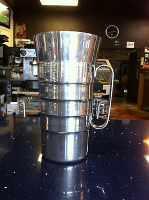 Mazzer Major And Super Jolly Grocery Stainless Steel Jars New