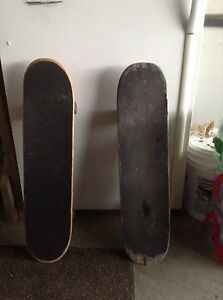 Two skateboards for sale
