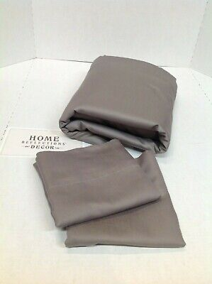 Queen Sheets Home Reflections 800TC Easy Care Cooling Sheet Set (800tc Bed Sheet Set)