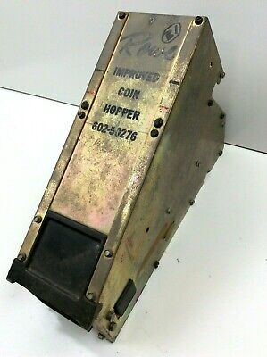 Used Rowe Improved Coin Hopper 602-50276 Chain Driven Working
