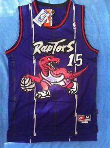 Canotta-nba-basket-maglia-Vince-Carter-jersey-Toronto-Raptors-S-M-L-XL