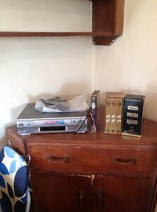 VHS player & Star Wars VHS 1, 45&6 special edition Queenscliff Manly Area Preview