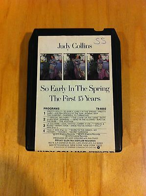 JUDY COLLINS - SO EARLY IN THE SPRING: THE FIRST 15 YEARS - 8-TRACK Tape