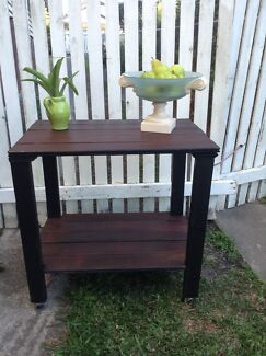 Industrial rustic hall table Camp Hill Brisbane South East Preview