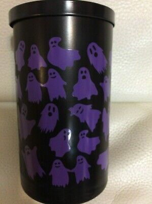 Yankee Candle One (1) Haunted Hayride 12oz Med Perfect Pillar Halloween Woodsy