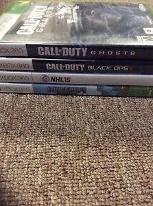 4 Xbox 360 games all working conditions