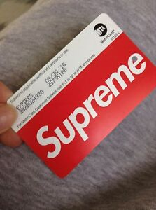 Subway card from NYC Supreme
