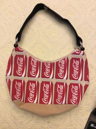 NWOT Coca Cola Canvas Small Purse