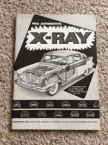 1956 Nash  X-Ray comparison with competition sales catalogue