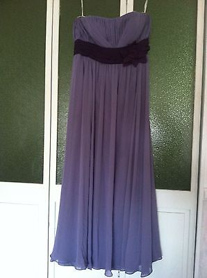 Evening Prom Holiday Special Occasion Bridesmaids Dress Wisteria Plum Bari Jay