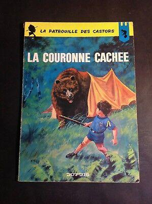 Mitacq - Charlier La Couronne Cachée - Patrouille des Castors - Dupuis EO - BD2