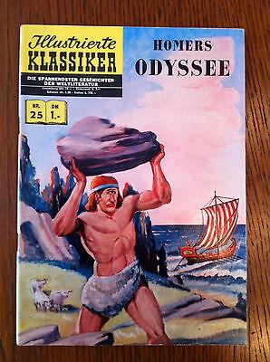 Originalausgabe Illustrierte Klassiker Nr. 25 Homers Odyssee BSV Verlag