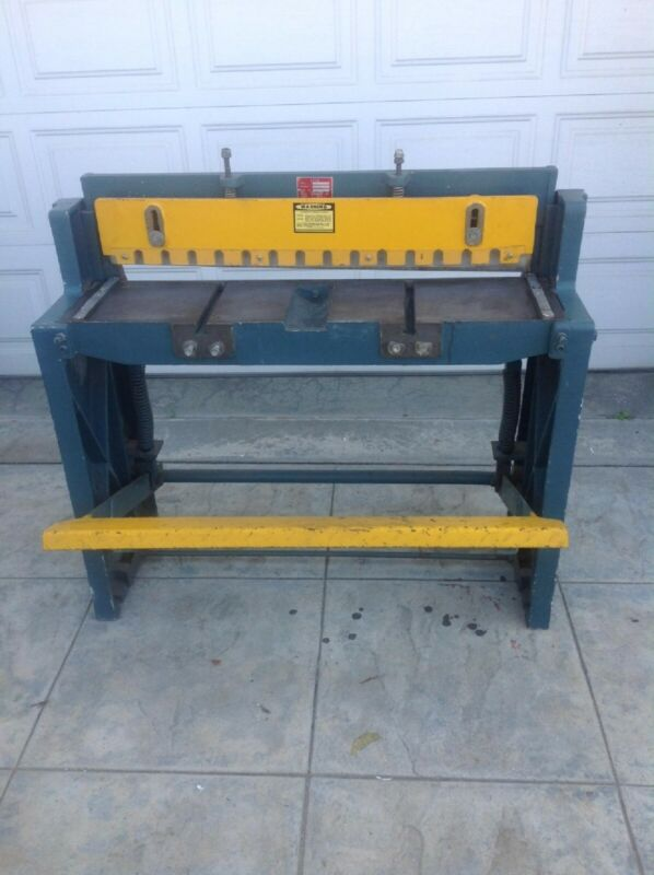 Enco Kick Shear model # 130 5372 Cost $1000.00 new