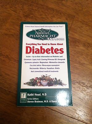 The Natural Pharmacist  Complementary Treatments For Diabetes  1999  Paperback