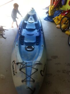 Kayak seats 3. Seak Medowie Port Stephens Area Preview