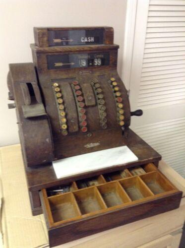 ANTIQUE 1922 NATIONAL CASH REGISTER