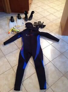 VORTEX WET SUIT SET