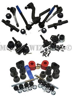 - Front End MASTER Rebuild Kit Ball Joints+Bushings+Steering Chevy Nova 70-74 GM X