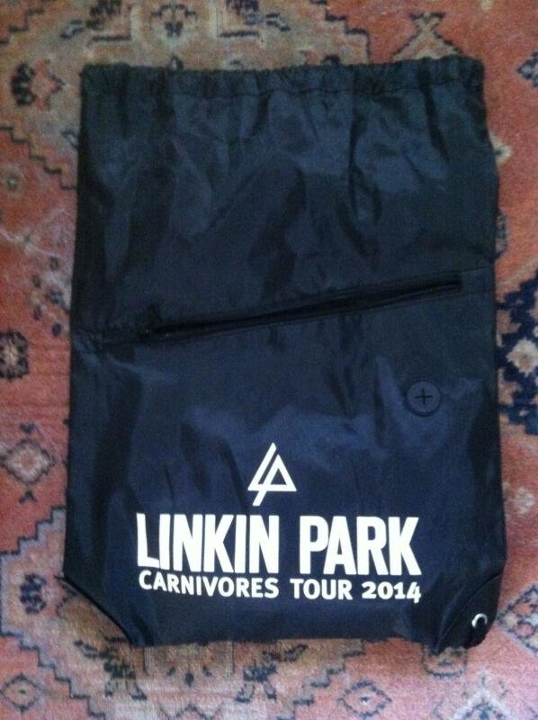 Linkin Park bookbag/back pack  Carnivores Tour 2014