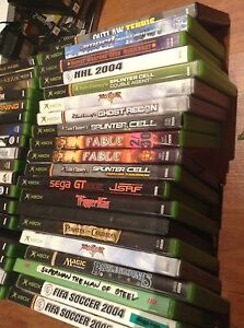 Origanial Xbox games $5 each lots to chose from