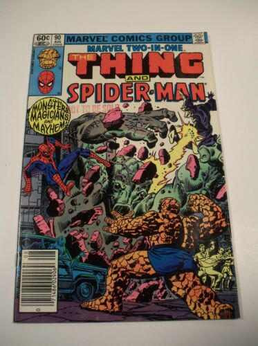 Marvel Comics 1982 #90 Two in One The Thing and Spider-Man