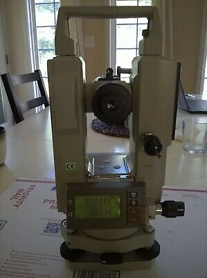 Sokkia Dt5 Digital Electronic Survey Theodolite With Case - Excellent Condition