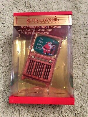 Songs and Memories Twas The Night Before Christmas Sound Lights Ornament Poem ()