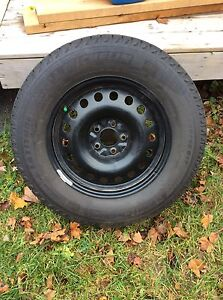 Winter Tires and Steel Rims - 245/65R17