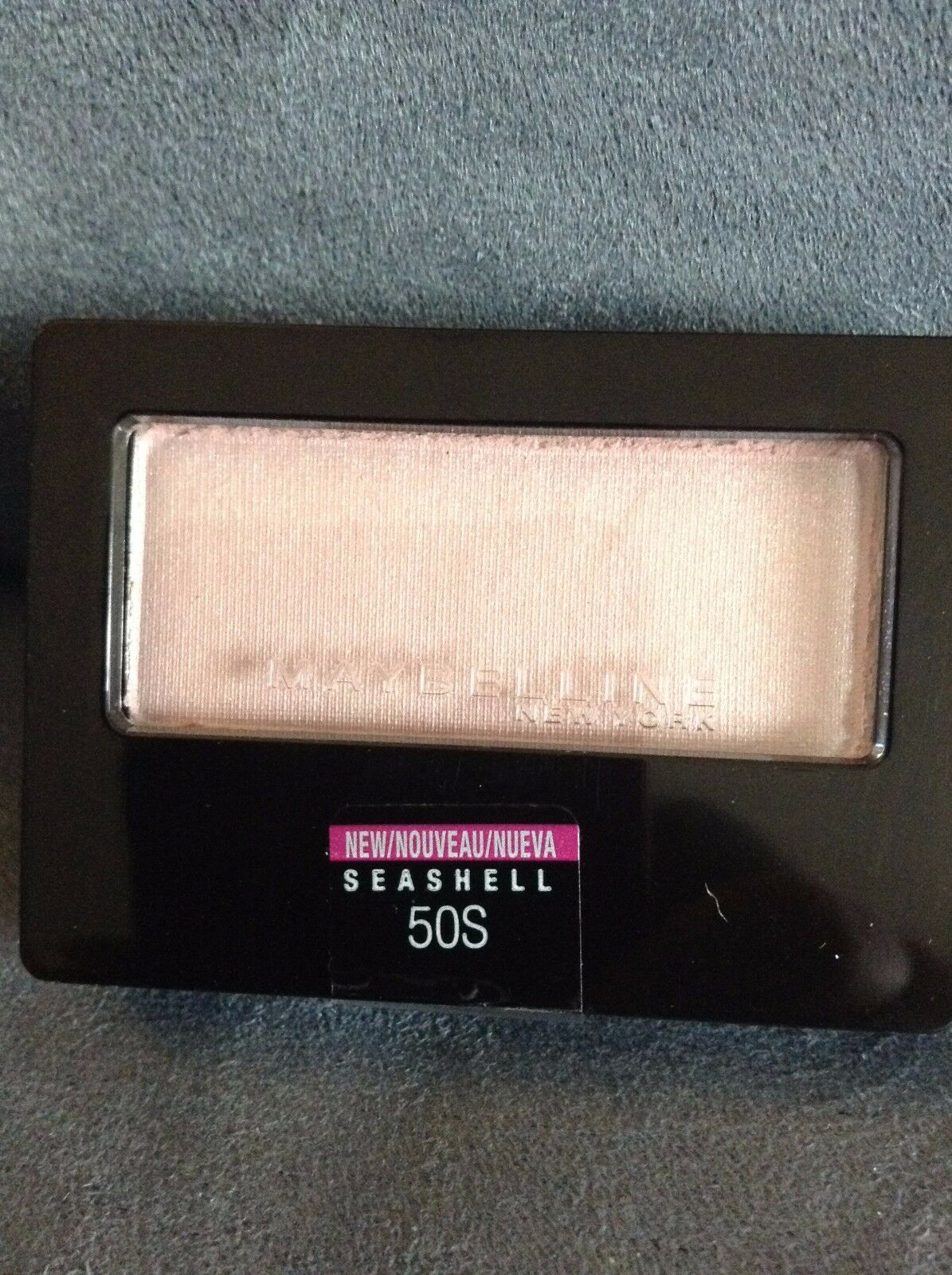 MAYBELLINE EXPERT WEAR EYE SHADOW SEASHELL 50S SINGLE EYESHA