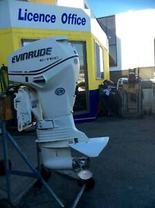50hp Evinrude E-Tec Outboard Motor S2793 Southport Gold Coast City Preview