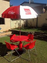 Coca Cola old retro milk bar table Alexandra Hills Redland Area Preview