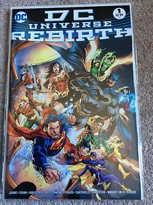 DC Universe REBIRTH midnight release variant