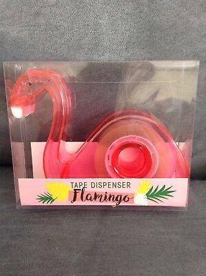 Greenbrier International Inc. Pink Flamingo Tape Dispenser - New In Package