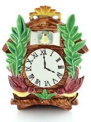 Vintage Japanese Gift Craft Circa 1960s Letter Holder Fake Cuckoo Clock L732