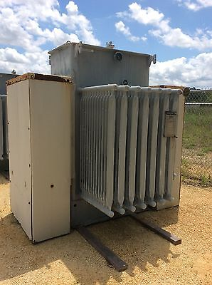 Westinghouse Substation Transformer 1000 Kva Primary 4160 Secondary 480y277