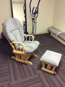 Rocking chair and ottoman