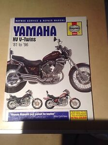 Yamaha xv v-twins 81-96 workshop manual Woodford Blue Mountains Preview