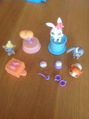 Littlest Pet Shop Birthday Party (Littlest Pet Shop Birthday Party & Magic Show 2 Bunnies, Mouse And A Guinea)