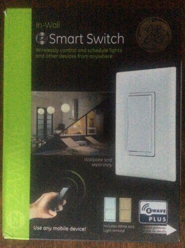 Jasco GE Z-Wave Plus In-wall Wireless Smart Switch 14291