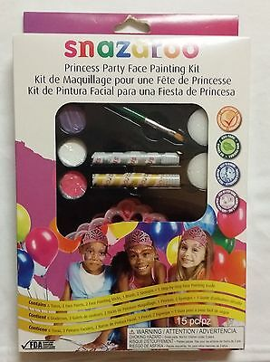 Snazaroo Party Face Painting Kit - Princess Birthday FAST FREE SHIPPING!](Princess Face Painting)