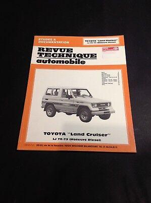 Revue Technique automobile - Toyota Land Cruiser - B15