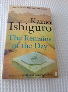 """Kazuo Ishiguro """"The Remains of the Day""""used paperback book will post"""