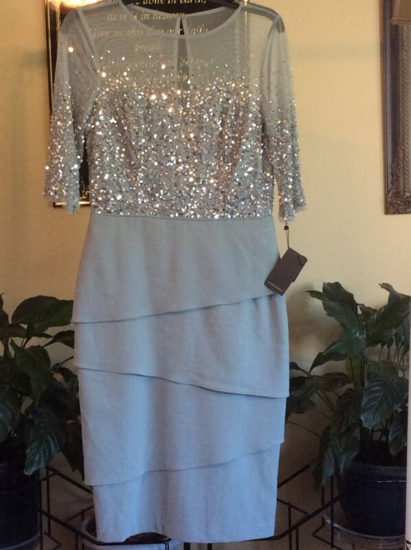 Reduced! New Adrianna Papell Formal Gown, Size 4