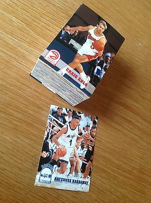 Complete set Hoops 93-4 Series 2 NBA Basketball Trading Cards (301-421)
