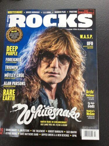 Rocks Magazin 03/2019  Foreigner Whitesnake Mötley Crüe UFO Deep Purple