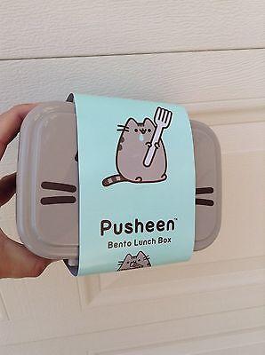 PUSHEEN cat BENTO box LUNCHBOX ~ Spring 2017 Subscription Box ~ NEW