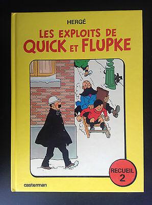 Les exploits de Quick et Flupke Recueil 2 1975 BE + à TBE