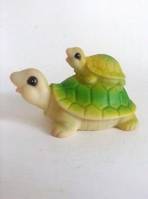 Jolie Figurine Pouet tortue TRES  BON ETAT Squeeze Gomma Squeaky