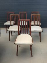 Retro dining chairs - set of 6. Redlynch Cairns City Preview