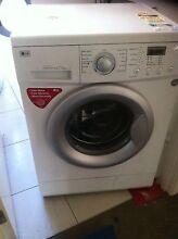 LG 7.5KG Front Loader Washing Machine Upper Coomera Gold Coast North Preview